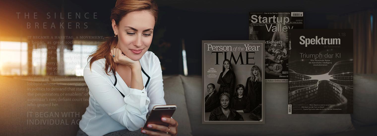 3 Magazinartikel, die die Welt verändern